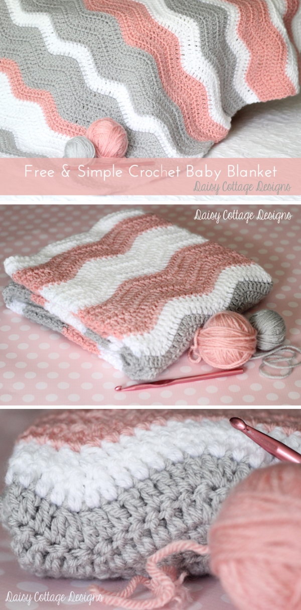 Luxury 20 Free Crochet Blanket Patterns with Lots Of Tutorials Crochet Baby Blanket Tutorial Of Top 46 Pics Crochet Baby Blanket Tutorial