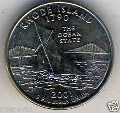 Luxury 2001 P & D Rhode island State Quarter Set Gem Bu From Mint State Quarter Set Of Superb 44 Pictures State Quarter Set