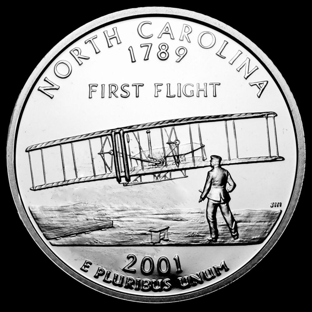 Luxury 2001 S north Carolina Mint Silver Proof Statehood State Quarter Set Of Superb 44 Pictures State Quarter Set