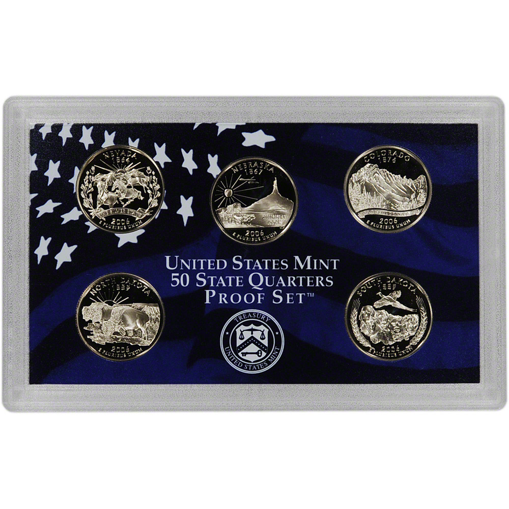Luxury 2006 United States Mint 50 State Quarters Proof Set State Quarter Proof Set Of Top 48 Images State Quarter Proof Set