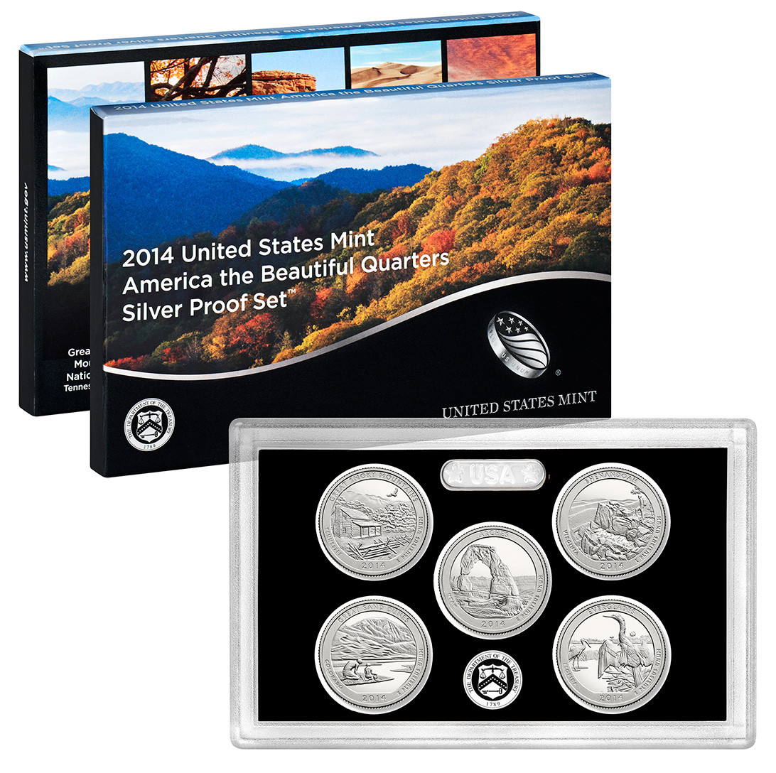 2014 United States Mint America the Beautiful Quarters