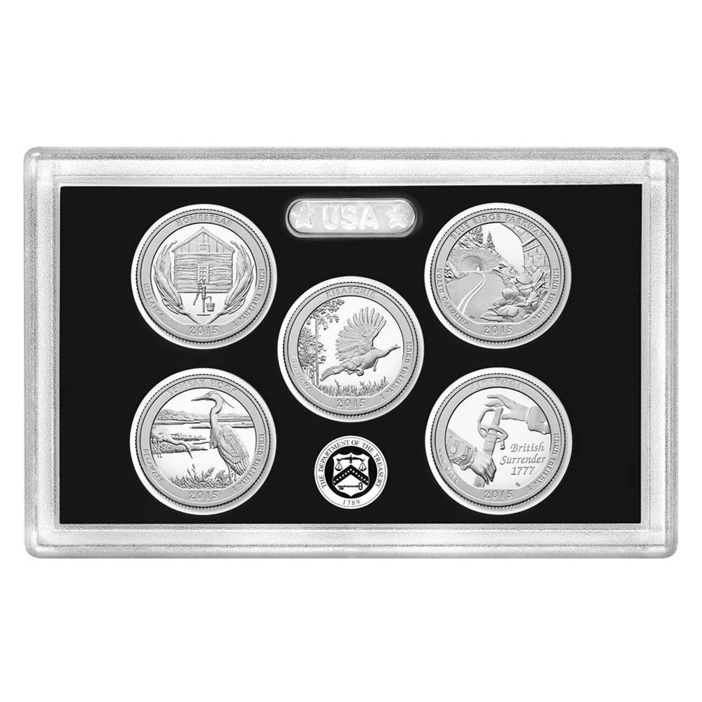 Luxury 2015 United States Mint America the Beautiful Quarters State Quarter Proof Set Of Top 48 Images State Quarter Proof Set