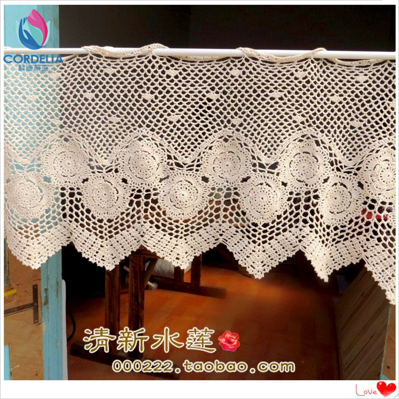 Luxury 2016 New Fashion Cotton Crochet Lace Curtains Window Cover Crochet Curtains Of Marvelous 47 Pictures Crochet Curtains