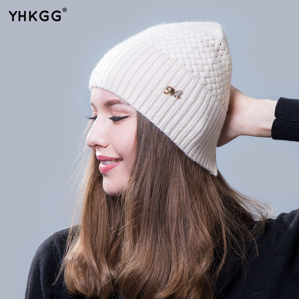 Luxury 2017 New La S Beanie Hats Ms Warm Winter Wool Hat Ladies Knitted Hats Of Adorable 50 Pictures Ladies Knitted Hats