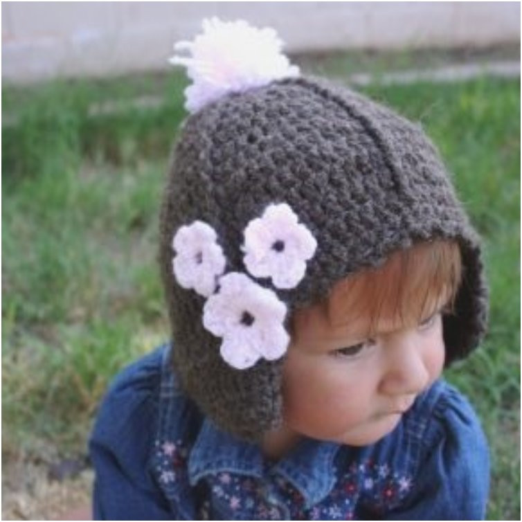 Luxury 22 Tutorials and Patterns for Adorable Winter Hats for Kids Baby Hat with Ear Flaps Of Perfect 41 Pics Baby Hat with Ear Flaps
