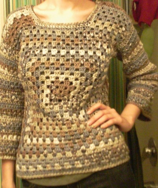 Luxury 25 Best Ideas About Granny Square Sweater On Pinterest Granny Square Sweater Of Superb 45 Photos Granny Square Sweater