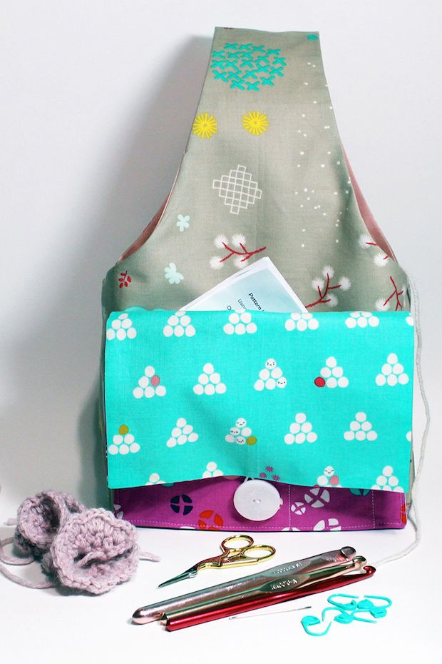 Luxury 25 Best Ideas About Knitting Bags On Pinterest Project Bag Pattern Of Incredible 47 Models Project Bag Pattern