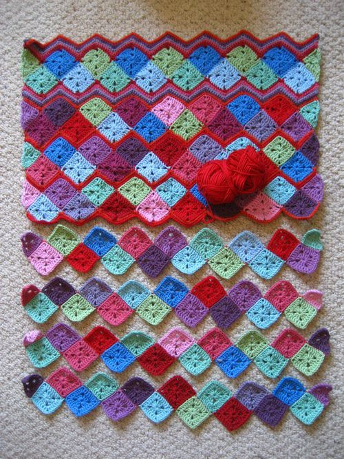 Luxury 28 Best Images About Crochet Hearts In Squares On Crochet Granny Squares together Of Marvelous 48 Pictures Crochet Granny Squares together