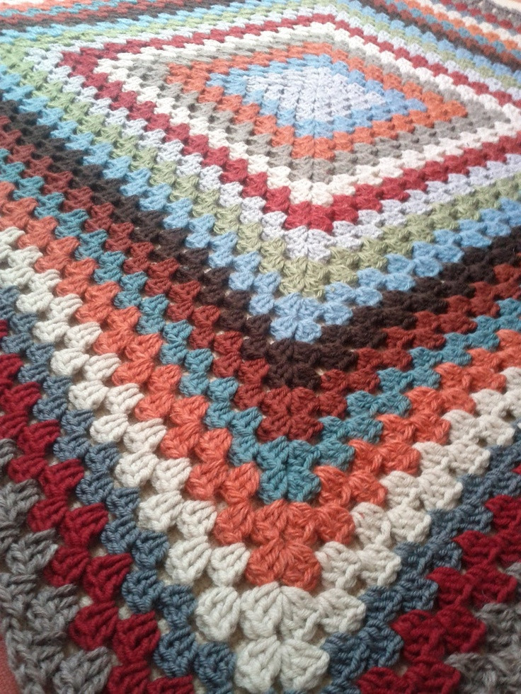 Luxury 29 Best Images About Granny Squares On Pinterest Large Granny Square Pattern Of New 47 Photos Large Granny Square Pattern