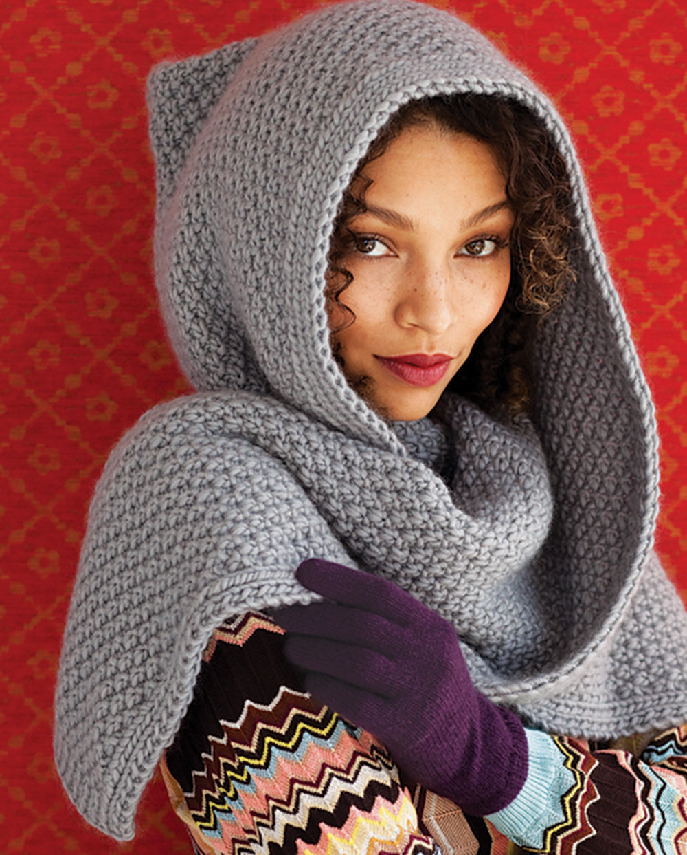 Luxury 31 Must Knit Hat Patterns Hooded Scarf Pattern Of Brilliant 43 Pics Hooded Scarf Pattern