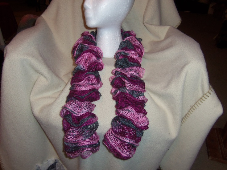 Luxury 34 Best Images About Loom Ruffle Scarves On Pinterest Knit Ruffle Scarf Of Marvelous 50 Pics Knit Ruffle Scarf