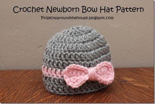 Luxury 41 Adorable Crochet Baby Hats & Patterns to Make Big Diy Newborn Hat Pattern Of Great 46 Models Newborn Hat Pattern