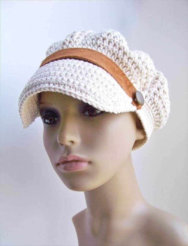 Luxury 45 Super Diy Crochet Brimmed Beanie Hat Design Crochet Summer Hat Pattern Of Incredible 46 Photos Crochet Summer Hat Pattern