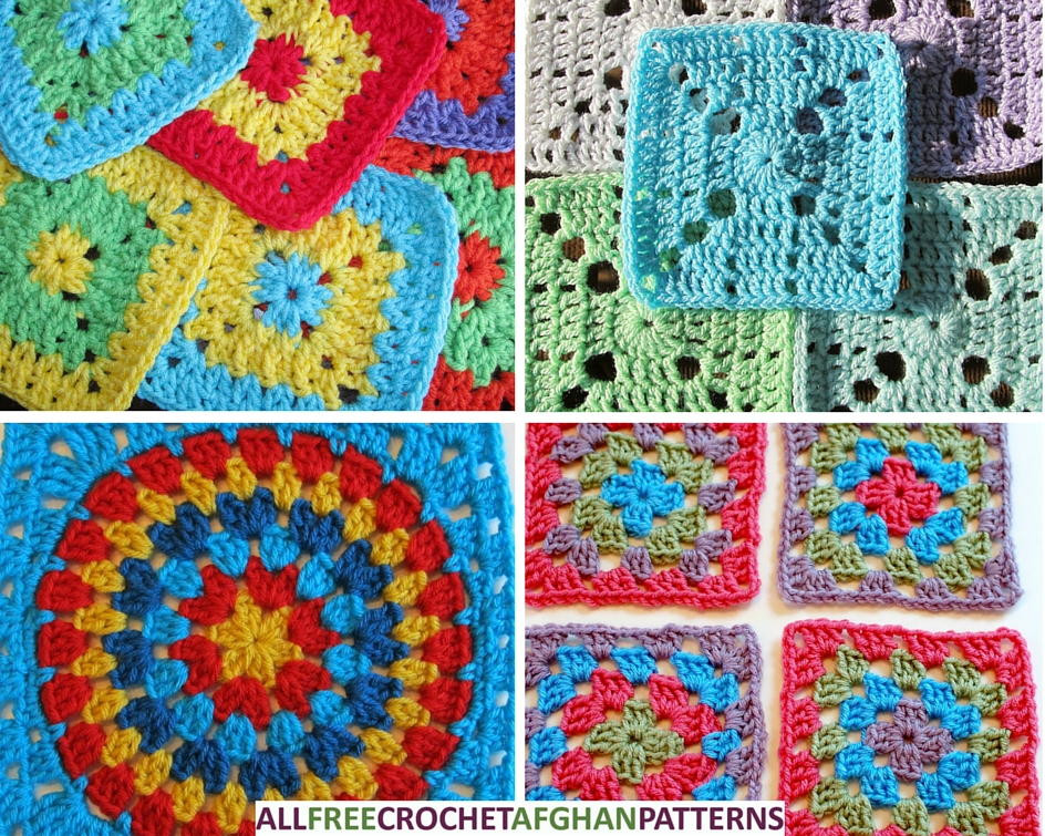 Luxury 46 Easy Crochet Granny Square Patterns Granny Stitch Crochet Of Amazing 45 Models Granny Stitch Crochet