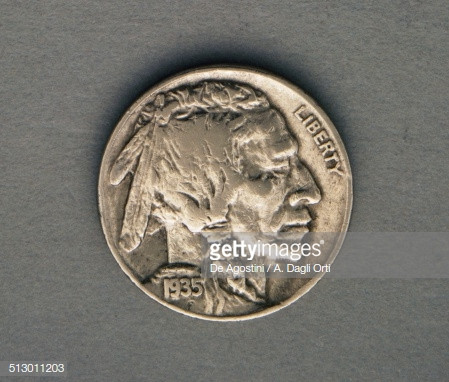 Luxury 5 Cents Coin 1935 Obverse Native American Chief Usa Stock Native American Nickel Of Attractive 40 Images Native American Nickel