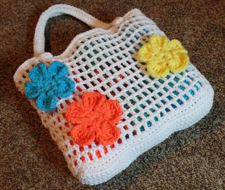 Luxury 50 Diy Crochet Purse tote & Bag Patterns Crochet tote Of Adorable 41 Images Crochet tote