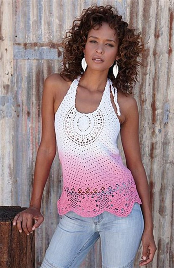Luxury 7 Beautiful tops to Crochet for Summer – Crochet Crochet Blouse Of Superb 46 Models Crochet Blouse