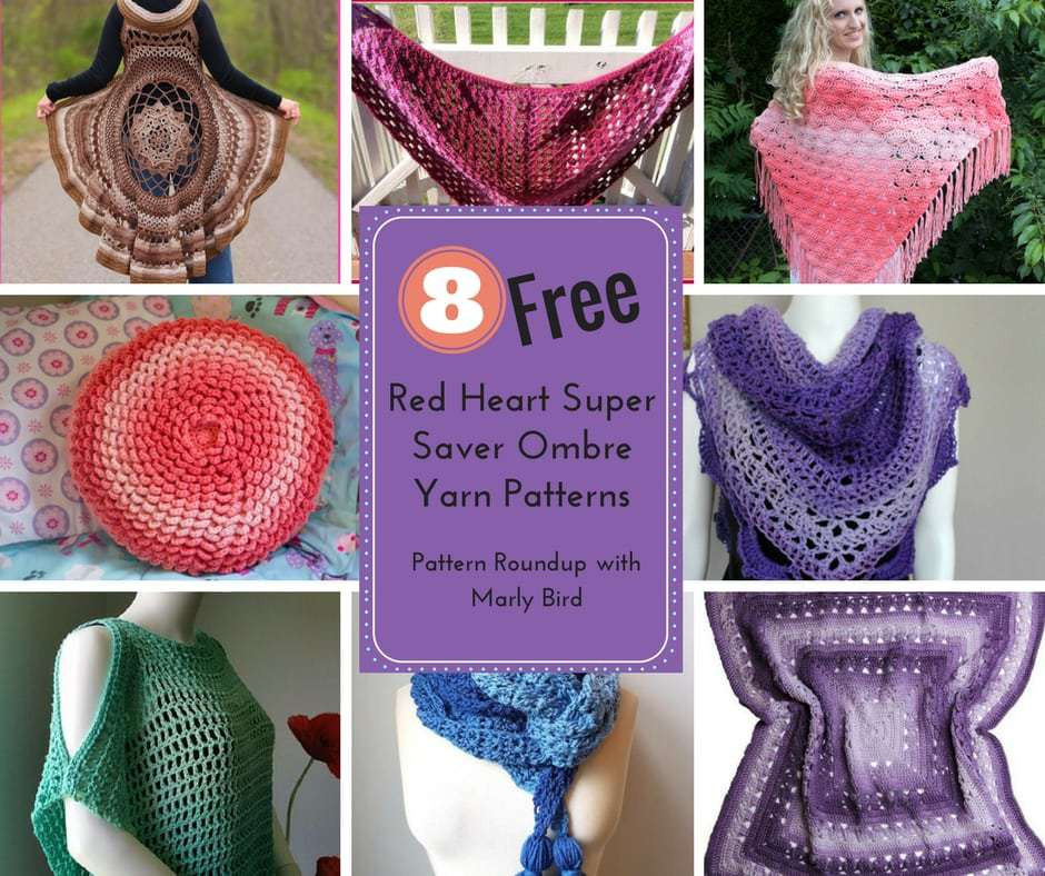 Luxury 8 Free Red Heart Super Saver Ombre Yarn Patterns Marly Bird™ Red Heart Yarn Free Patterns Of Superb 44 Pics Red Heart Yarn Free Patterns