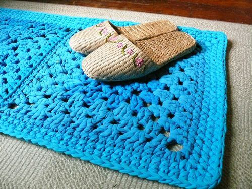 Luxury 97 Best Images About T Shirt Yarn Stuff On Pinterest Crochet Rug Patterns with Yarn Of Great 50 Images Crochet Rug Patterns with Yarn