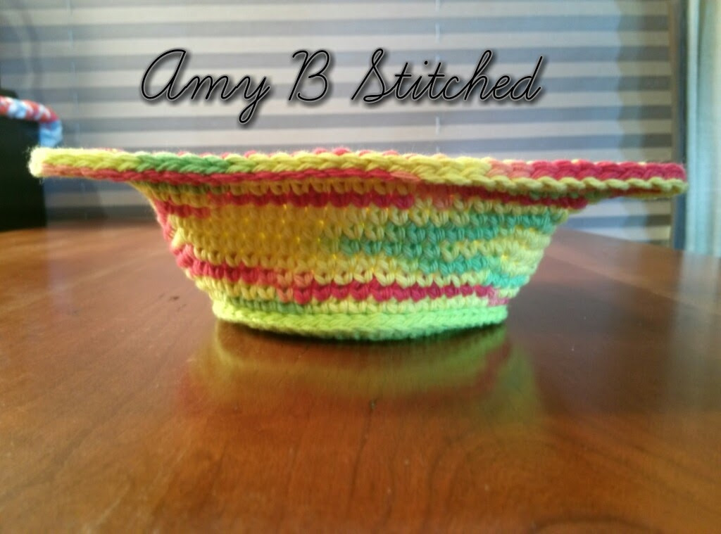 Luxury A Stitch at A Time for Amy B Stitched Bowl Cozy Hot Pad Crochet Bowl Cozy Of New 36 Images Crochet Bowl Cozy