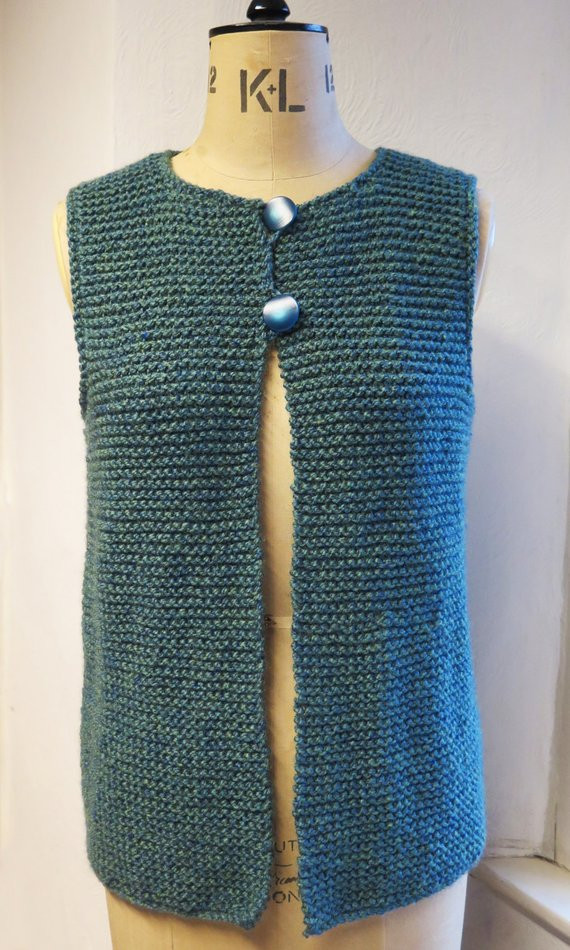 Luxury Adult Gilet Waistcoat Jerkineasy Knitting Pattern Pdf Free Crochet Womens Vest Patterns Of Great 41 Pics Free Crochet Womens Vest Patterns