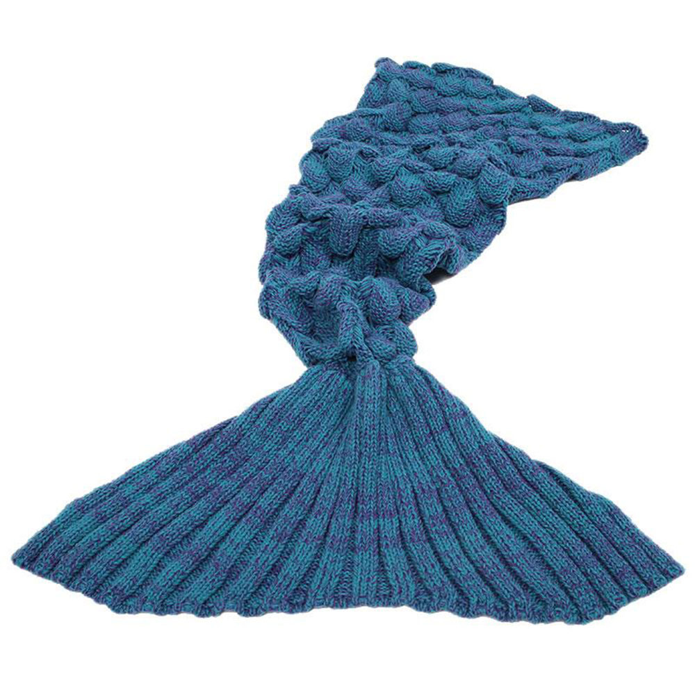 Luxury Adult Knitted Hand Crocheted Home sofa soft Mermaid Tail Knitted Mermaid Blanket Of Great 41 Images Knitted Mermaid Blanket