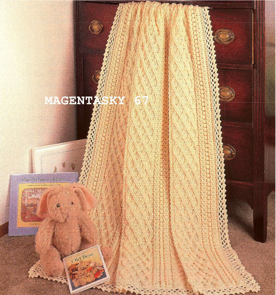 Luxury Afghan Blanket Throw Aran Style Crochet Pattern Vintage Aran Crochet Afghan Pattern Of Gorgeous 41 Pics Aran Crochet Afghan Pattern