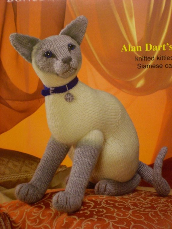 Luxury Alan Dart Sirdar Siamese Cat toy Knitting Pattern New Knitted Cat toys Of Fresh 44 Pics Knitted Cat toys