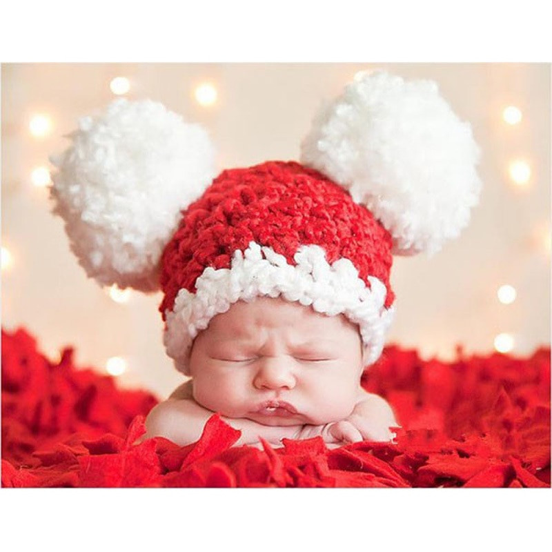 Luxury Aliexpress Buy Christmas Baby Santa Hat toddler Girl Crochet Baby Santa Hat Of Amazing 44 Images Crochet Baby Santa Hat