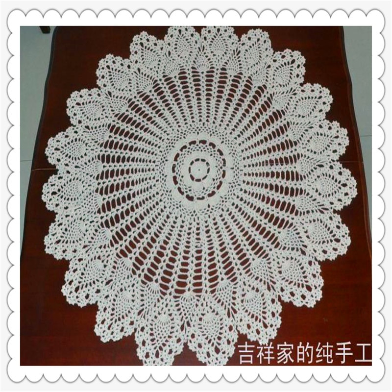 Luxury Aliexpress Buy Free Shipping 85cm Cotton Crochet Crochet Tablecloth for Sale Of Delightful 42 Ideas Crochet Tablecloth for Sale