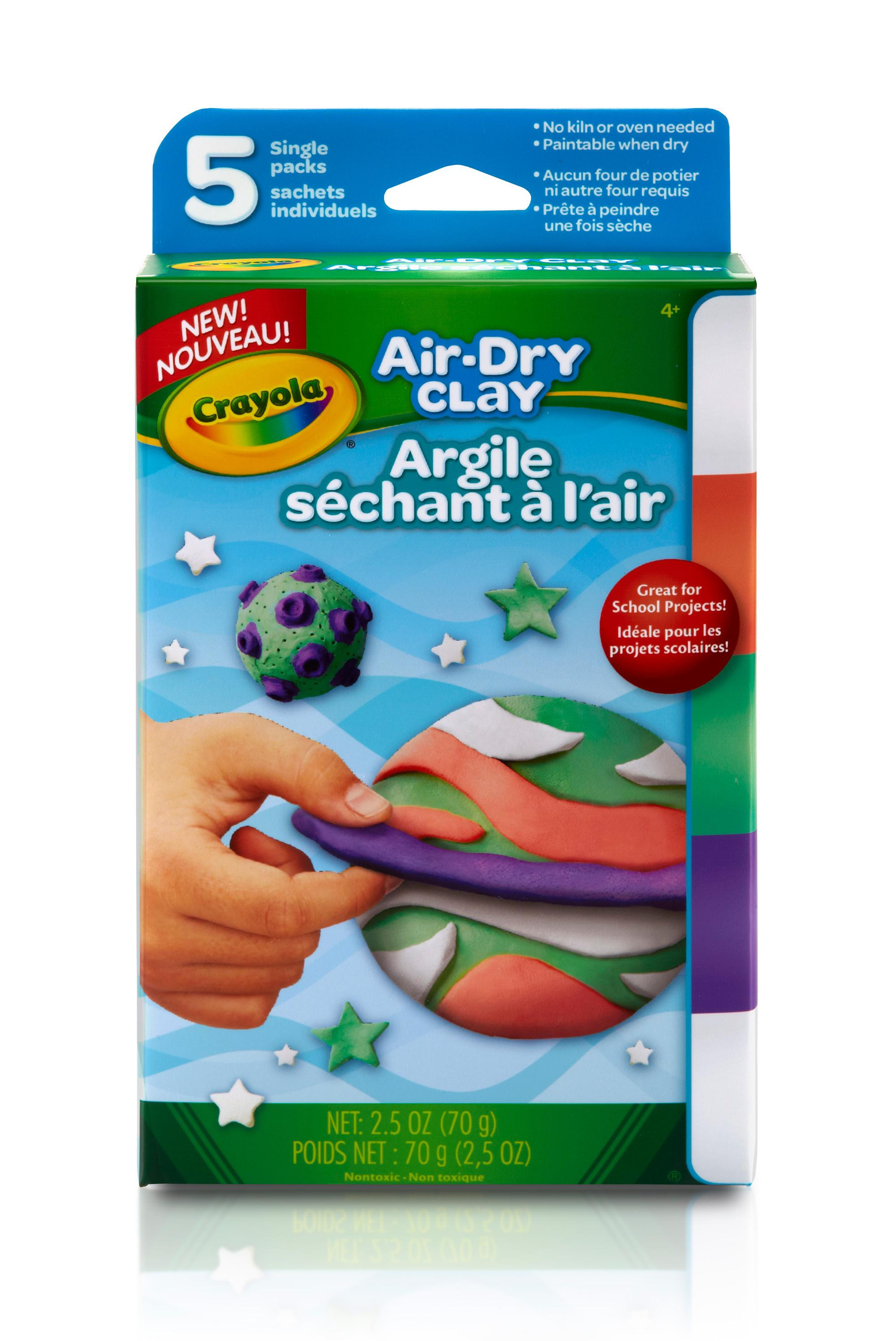 Luxury Amazon Crayola Air Dry Clay Variety Pack Bright Colored Air Dry Clay Of Amazing 47 Pictures Colored Air Dry Clay