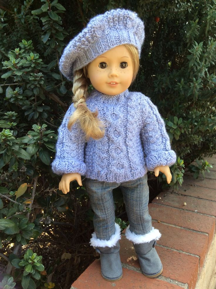Luxury American Girl Doll Beret Knitting Pattern Aztec Sweater Free Knitting Patterns for American Girl Dolls Of Delightful 41 Models Free Knitting Patterns for American Girl Dolls