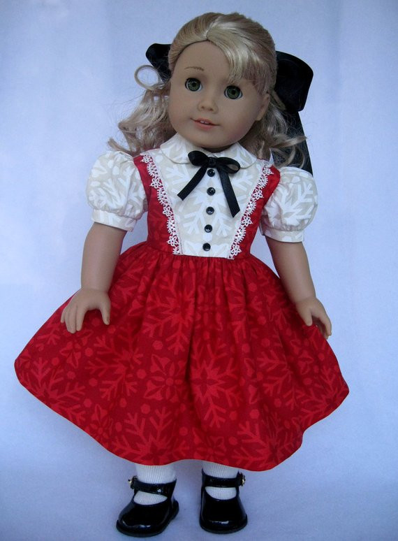 Luxury American Girl Doll Clothes Red and Cream Christmas Dress American Girl Doll Christmas Outfits Of Wonderful 40 Ideas American Girl Doll Christmas Outfits