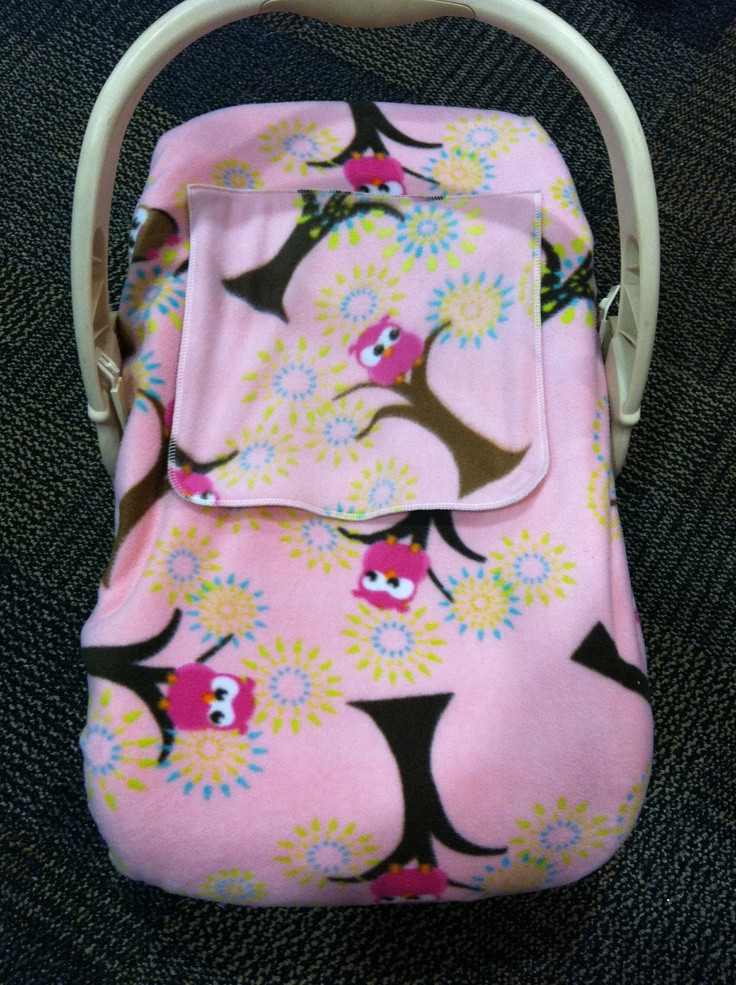 """Another possible idea for a car seat cover """"pattern"""" if we"""