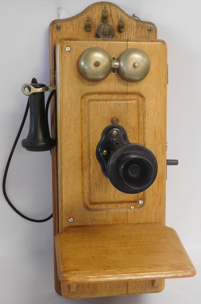 Luxury Antique Kellogg Oak Crank Wall Telephone C 1900 Antique Crank Phone Of Top 49 Pictures Antique Crank Phone