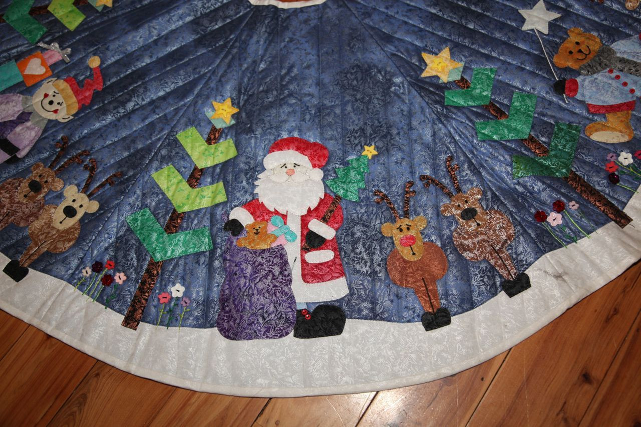 Luxury Applique Christmas Tree Skirt Free Tree Skirt Patterns Of Brilliant 44 Pics Free Tree Skirt Patterns