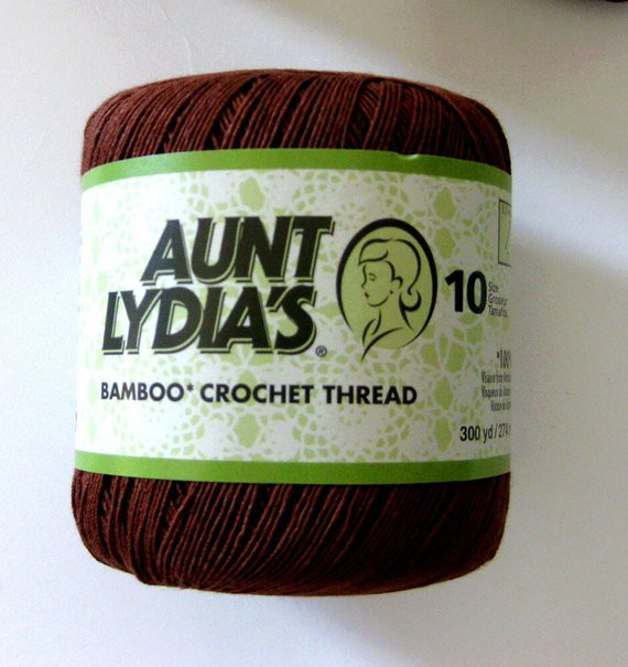 Luxury Aunt Lydias Bamboo Thread Twig Brown Size 10 Crochet by Bamboo Crochet Thread Of Awesome 29 Pics Bamboo Crochet Thread