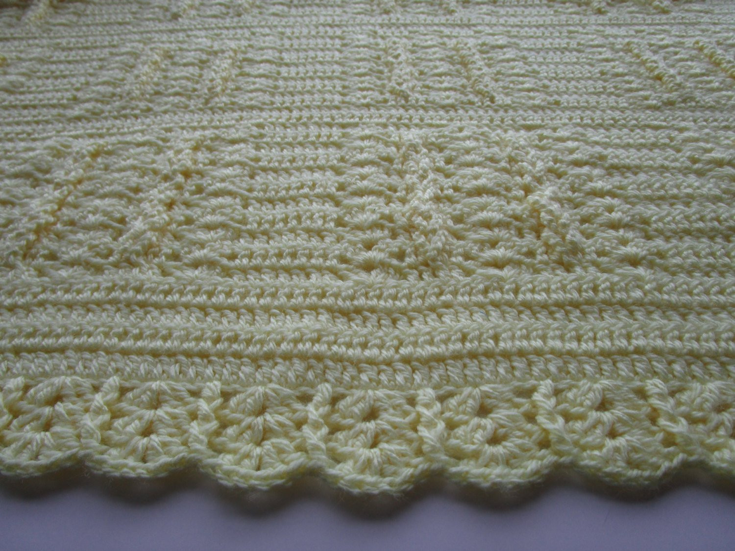 Luxury Baby Afghan Baby Blanket Crochet Shells and Braids Yellow Crochet Shell Baby Blanket Of Lovely 50 Ideas Crochet Shell Baby Blanket