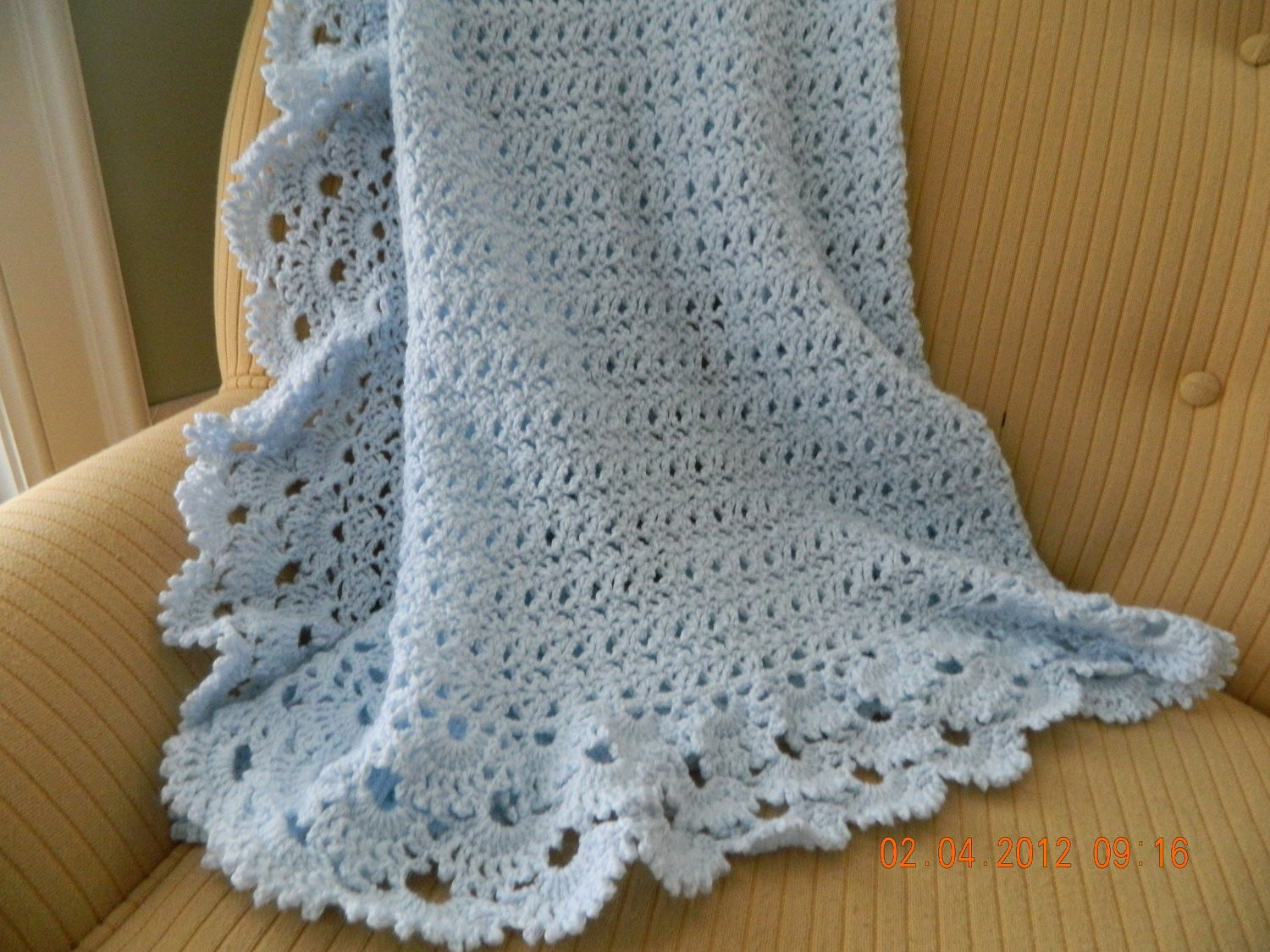 Luxury Baby Blue Crocheted Baby Blanket Shell Design Gorgeous 3 Crochet Shell Baby Blanket Of Lovely 50 Ideas Crochet Shell Baby Blanket
