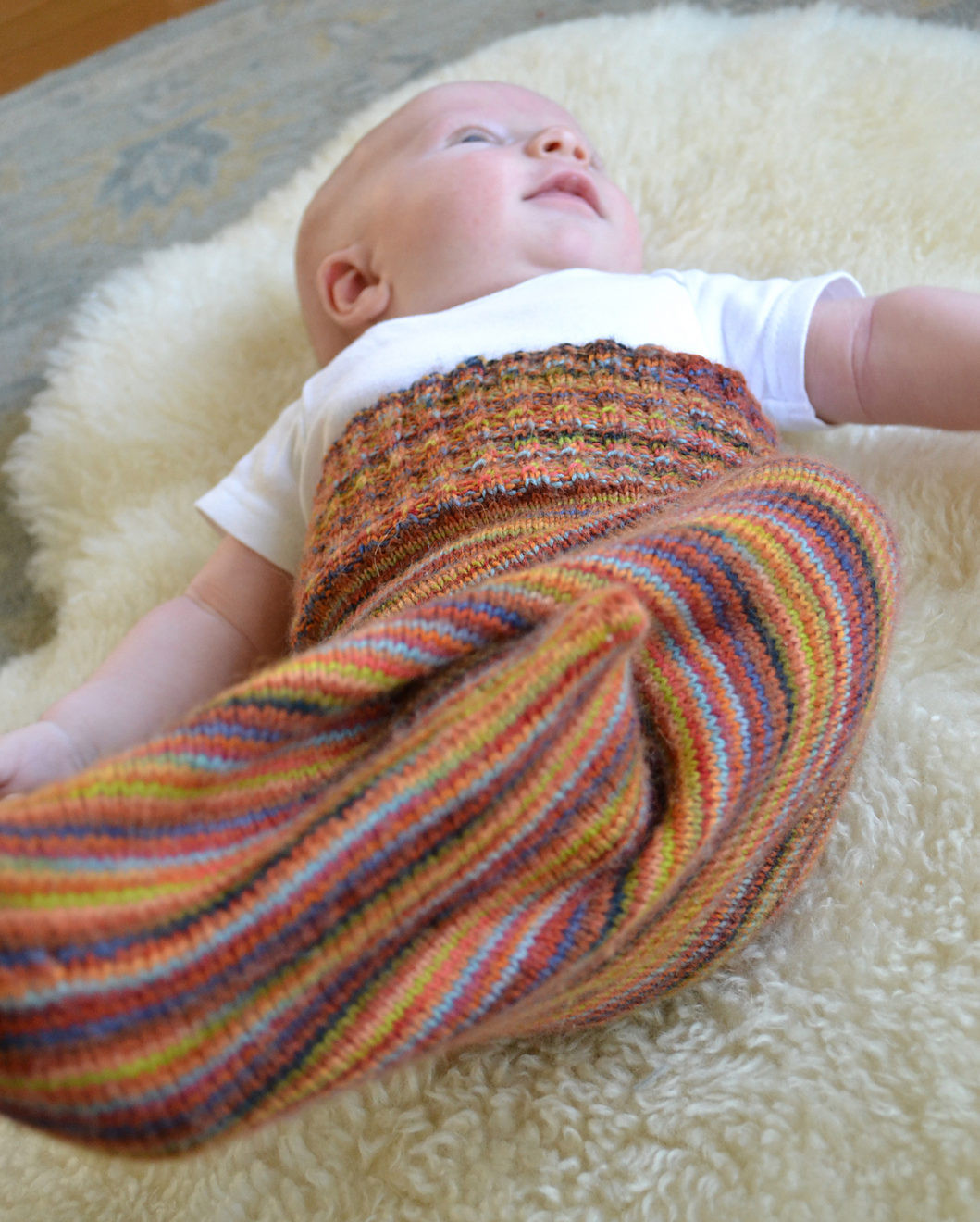 Luxury Baby Cocoon Snuggly Sleep Sack Wrap Knitting Patterns Knitted Baby Cocoon Of Marvelous 42 Photos Knitted Baby Cocoon