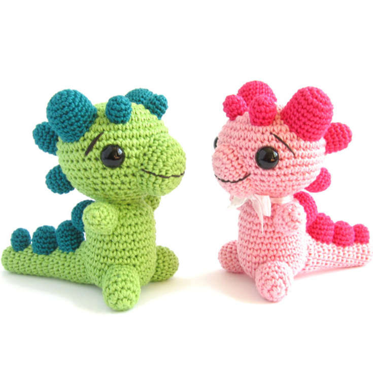 Luxury Baby Dragon with Rattle Pattern • Wixxl Crochet Dragon Pattern Of Brilliant 50 Pictures Crochet Dragon Pattern