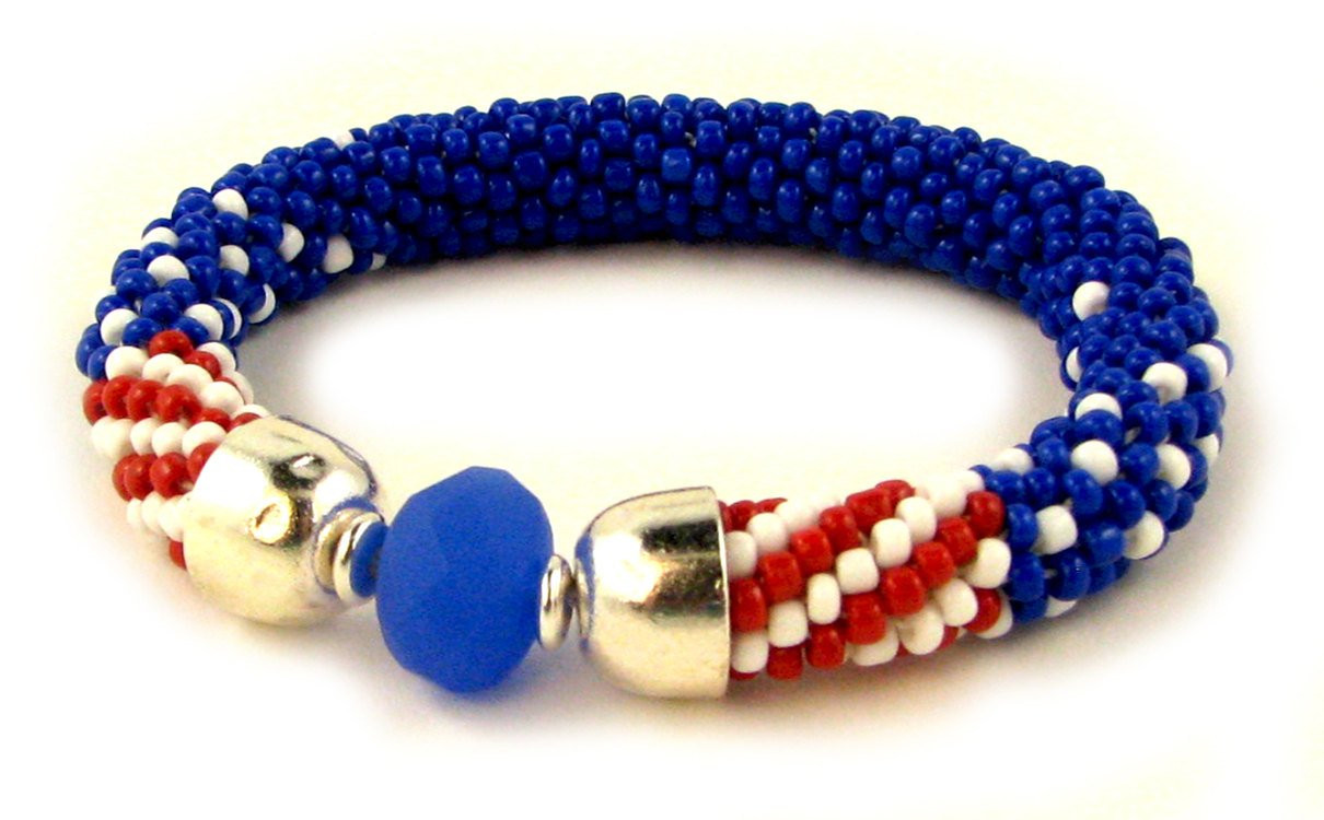 Luxury Bead Crochet Bracelet Pattern Instant Red White Blue Bead Crochet Patterns Of Perfect 48 Pictures Bead Crochet Patterns