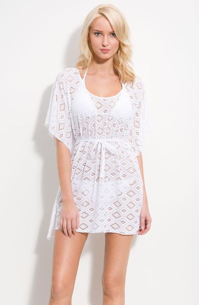 Luxury Becca Crochet Cover Up In White Pearl White Crochet Cover Ups Of Charming 44 Pics White Crochet Cover Ups