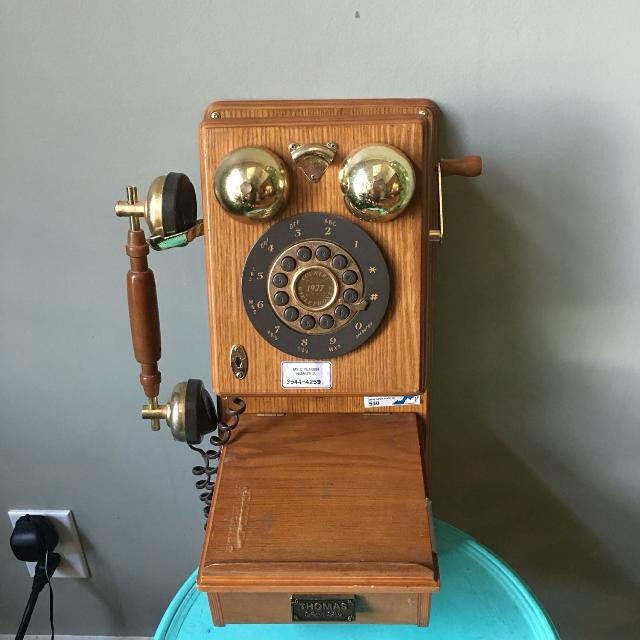 Best Vintage Wall Phone Thomas Collection Edition for sale