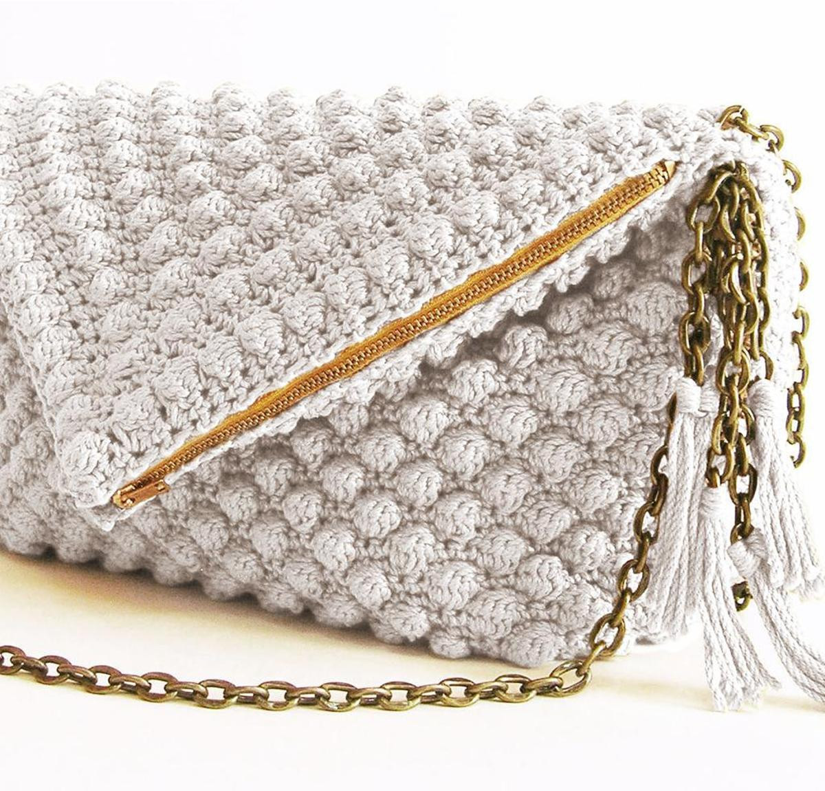 Luxury Bobble Stitch Bag Crochet Kit by Chabegs Featuring Cascade Crochet Kit for Beginners Of Unique 40 Models Crochet Kit for Beginners