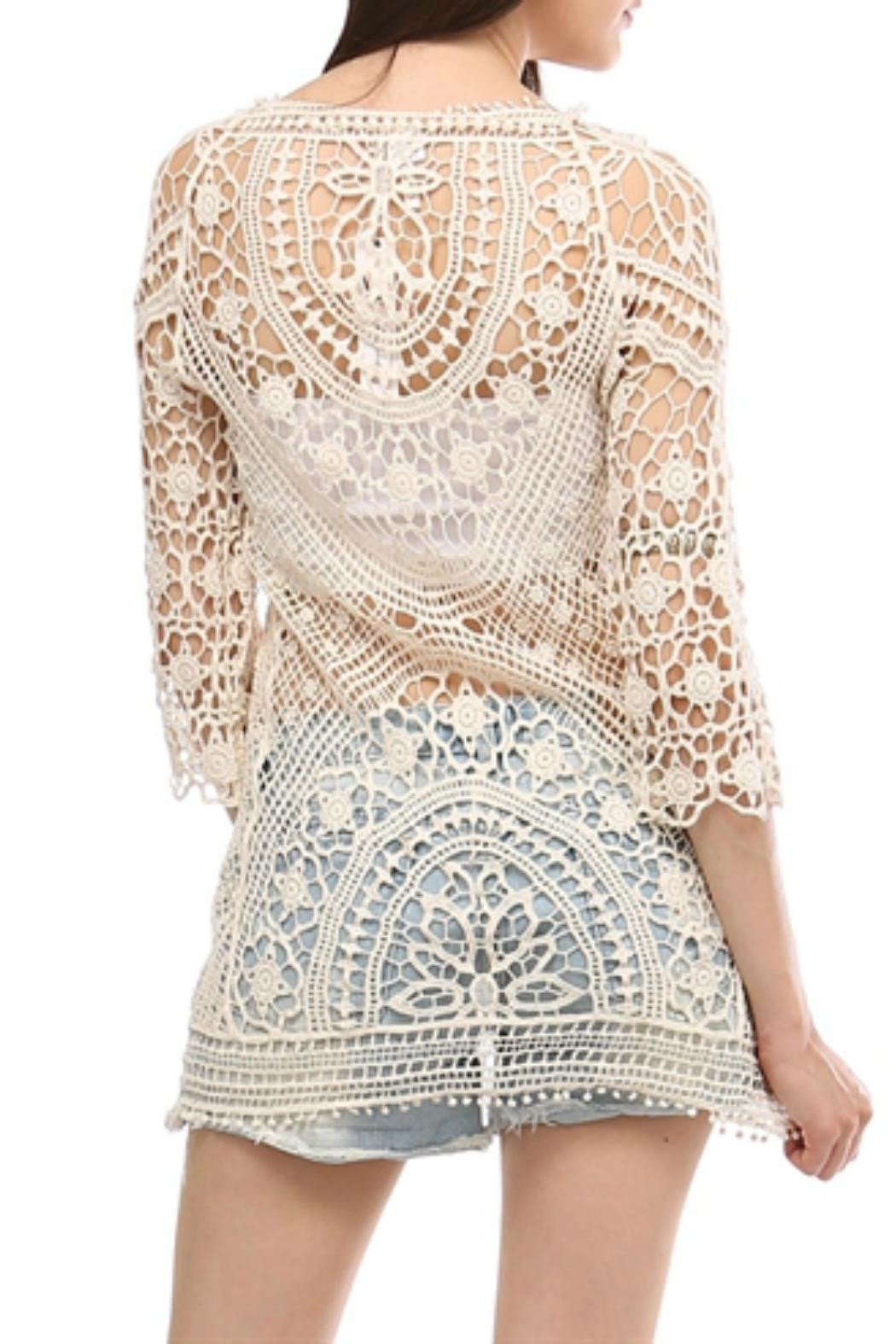 Boho Crochet Top from Missouri by Front Porch Boutique