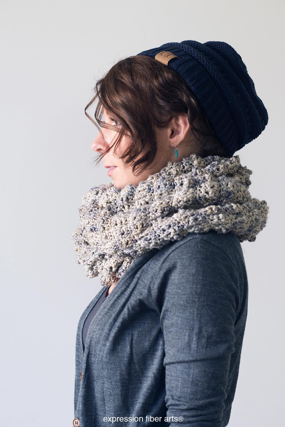 Luxury Bubbly Cowl – Crochet Pattern – Expression Fiber Arts Cowl Scarf Of Innovative 48 Photos Cowl Scarf