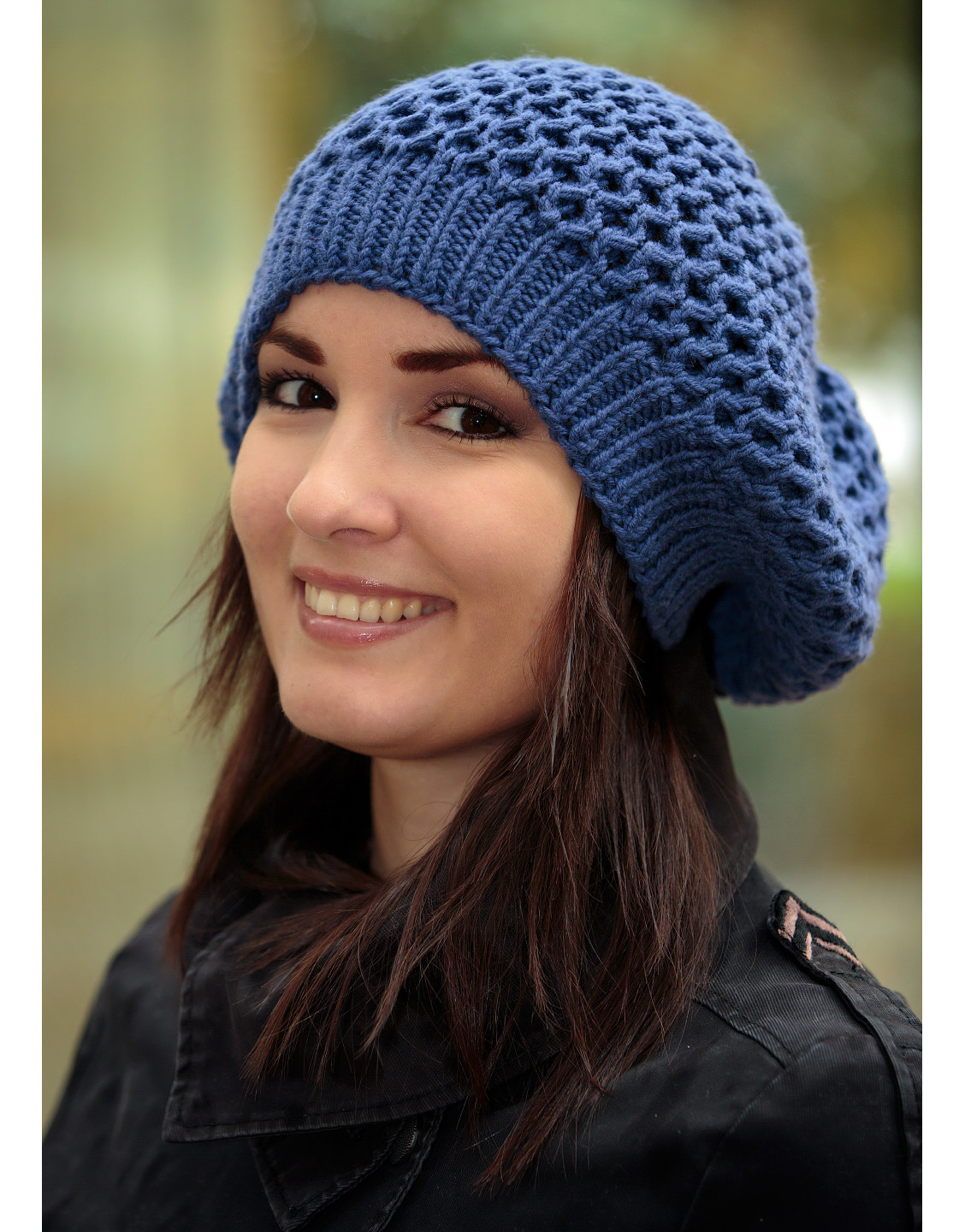 Luxury button Blue Knit Beret Knit Beret Of Beautiful 41 Models Knit Beret