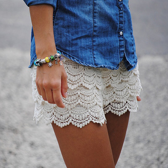 Luxury Buy Women S Lace Crochet Shorts by Fashion Club Usa On Opensky Crochet Lace Shorts Of Unique 47 Photos Crochet Lace Shorts