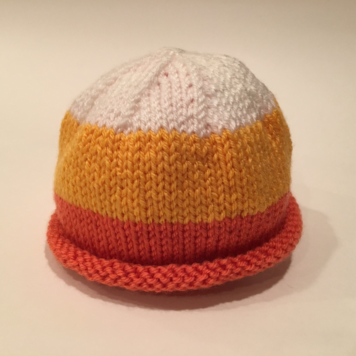 Luxury Candy Corn Baby Hat Custom Knit Candy Corn Hat Of Incredible 42 Pictures Candy Corn Hat